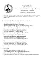 Chants Saint-Léon24 juin 2018