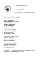 Chants Saint-Léon10 juin 2018