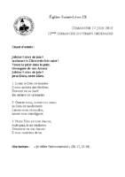 Chants Saint-Léon17 juin 2018