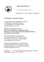 Chants Saint-Léon1er juillet 2018