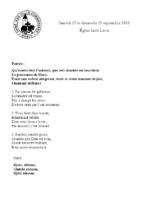 Chants Saint-Léon23 septembre 2018