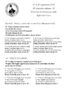 Chants Saint-Léon30 septembre 2018