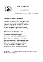 Chants Saint-Léon14 octobre 2018