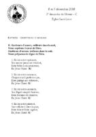 Chants Saint-Léon9 décembre 2018