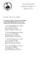 Chants Saint-Léon13 janvier 2019