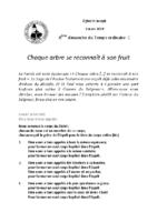 Chants Saint-Joseph3 mars 2019