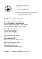 Chants Saint-Léon10 février 2019