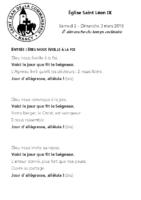 Chants Saint-Léon3 mars 2019