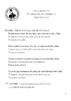 Chants Saint-Léon10 mars 2019