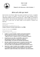 Chants Saint-JosephRameaux14 avril 2019