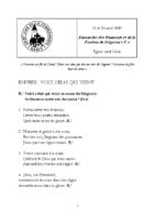 Chants Saint-LéonRameaux14 avril 2019