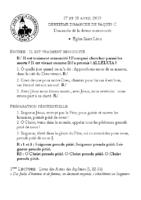 Chants Saint-Léon28 avril 2019