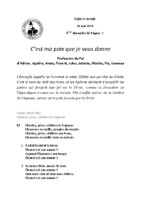 Chants Saint-Joseph26 mai 2019