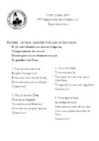 Chants Saint-Léon12 mai 2019