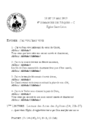 Chants Saint-Léon19 mai 2019
