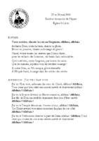 Chants Saint-Léon26 mai 2019