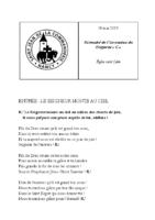 Chants Saint-Léon30 mai 2019Ascension