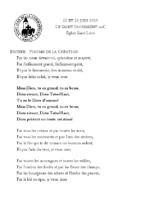 Chants Saint-Léon23 juin 2019