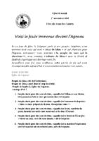 Chants Saint-JosephToussaint 2019