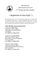 Chants Saint-Léon6 octobre 2019