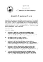 Chants Saint-Joseph17 novembre 2019