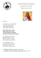 Chants Saint-Léon24 novembre 2019