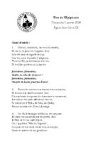 Chants Saint-Léon5 janvier 2020