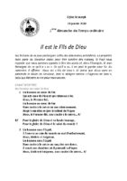 Chants Saint-Joseph19 janvier 2020