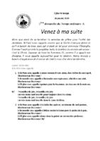 Chants Saint-Joseph26 janvier 2020