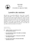 Chants Saint-Joseph2 février 2020