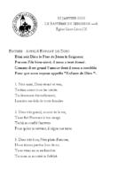 Chants Saint-Léon12 janvier 2020