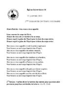 Chants Saint-Léon19 janvier 2020