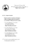 Chants Saint-Léon9 février 2020