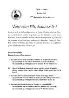 Chants Saint-Joseph8 mars 2020