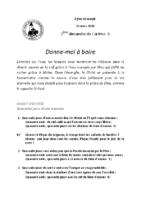 Chants Saint-Joseph15 mars 2020