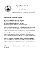 Chants Saint-Léon21 juin 2020