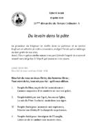 Chants Saint-Joseph19 juillet 2020