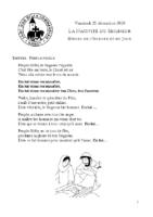 Messes de l'aurore et du jourSaint-Léon Noël 2020