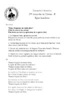 Chants Saint-Léon6 décembre 2020
