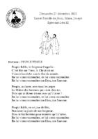 Chants Saint-Léon27 décembre 2020