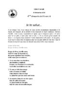 Chants Saint-Joseph20 décembre 2020