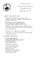 chants Saint-Léon13 décembre 2020