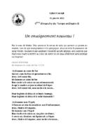 Chants Saint-Joseph31 janvier 2021