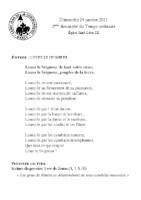Chants Saint-Léon24 janvier 2021