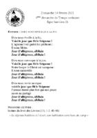 Chants Saint-Léon14 février 2021