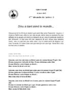 Chants Saint-Joseph14 mars 2021