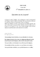 Chants Saint-Joseph21 mars 2021