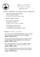 Chants Saint-Léon18 avril 2021