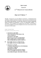 Chants Saint-Joseph20 juin 2021