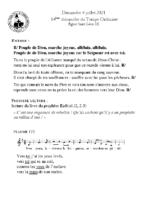 Chants Saint-Léon4 juillet 2021